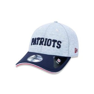 ae9edc78fafad Bone 3930 New England Patriots NFL Aba Curva New Era Masculino
