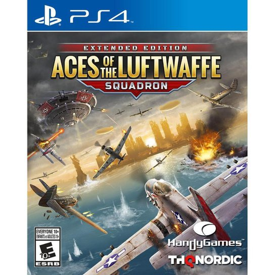 Aces of The Luftwaffe: SQUADRON EDITION - PS4 - Incolor