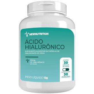 Ácido Hialurônico 150mg - 30 cápsulas NewNutrition