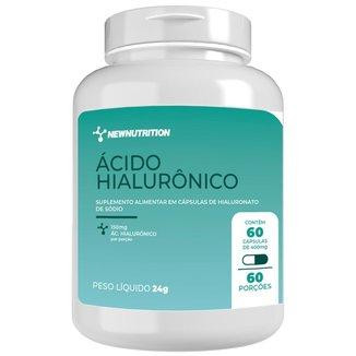 Ácido Hialurônico 150mg - 60 cápsulas NewNutrition