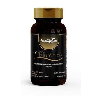 Acido Hialurônico 30 cápsulas 350mg Muscle Boss