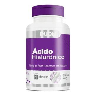 Ácido Hialuronico 75mg 60 Cápsulas Duom