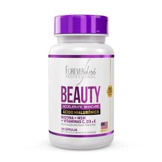 Ácido Hialurônico Beauty Skincare Forever Liss - 30 cápsulas