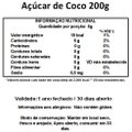 Açúcar de Coco Viva Salute - 200 g