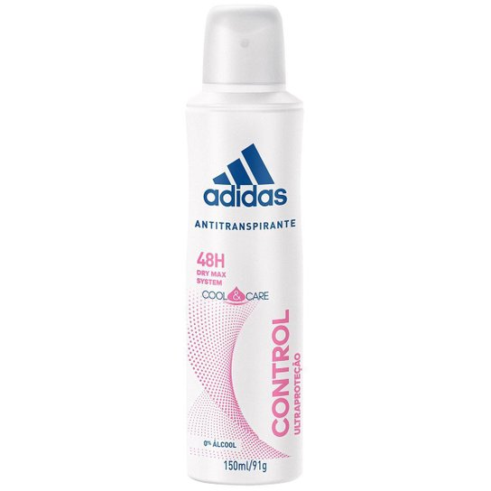 Adidas Desodorante Feminino Aerosol Cool & Care Control 150ml - Incolor