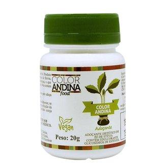 Adoçante Em Pó 100% Natural Stévia 20g - Color Andina