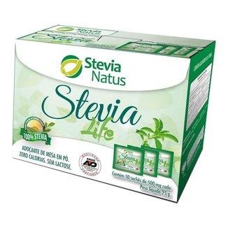 Adoçante em pó Stevia Life sachês (50x 500mg) - Stevia Natus