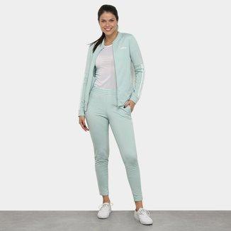 Agasalho Adidas Back 2 Basics 3 Sripes Feminino