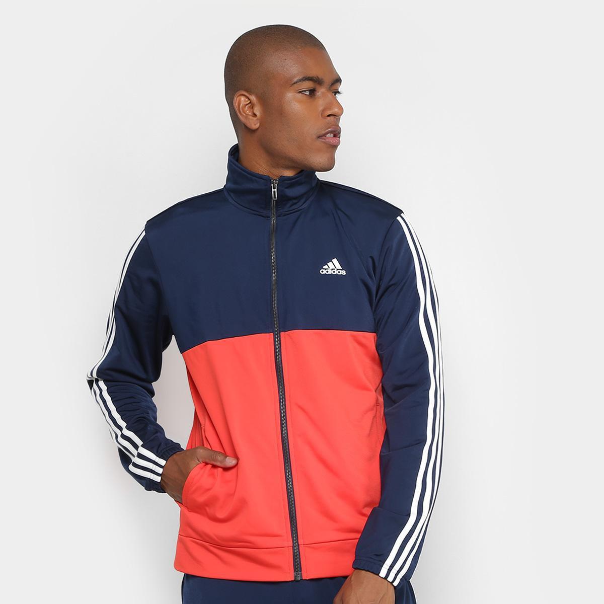 Agasalho Adidas Back2Bas 3S Masculino - Compre Agora  0d66605c95d01