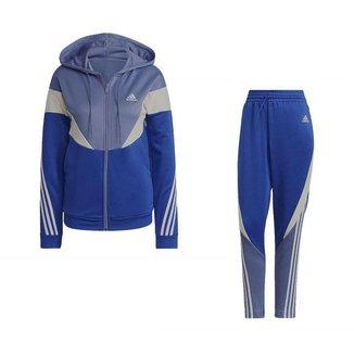 Agasalho Adidas Colorblock Feminino
