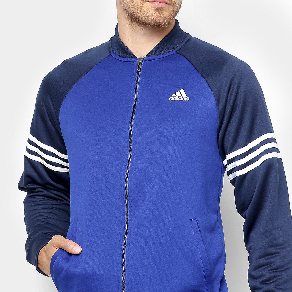 ... Agasalho Adidas Cozy Masculino. Agasalho Adidas Cozy Masculino - Azul+ Marinho 264fc08bd4cba