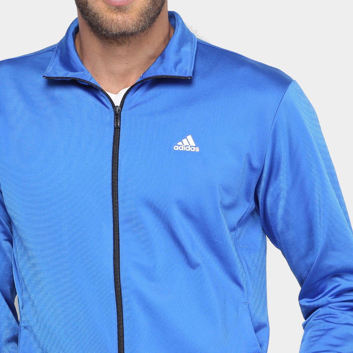 ... Agasalho Adidas Ep Masculino - Azul e Preto - Compre Agora Netshoes  f52991f95918e0 ... ef1d7d0e8e595