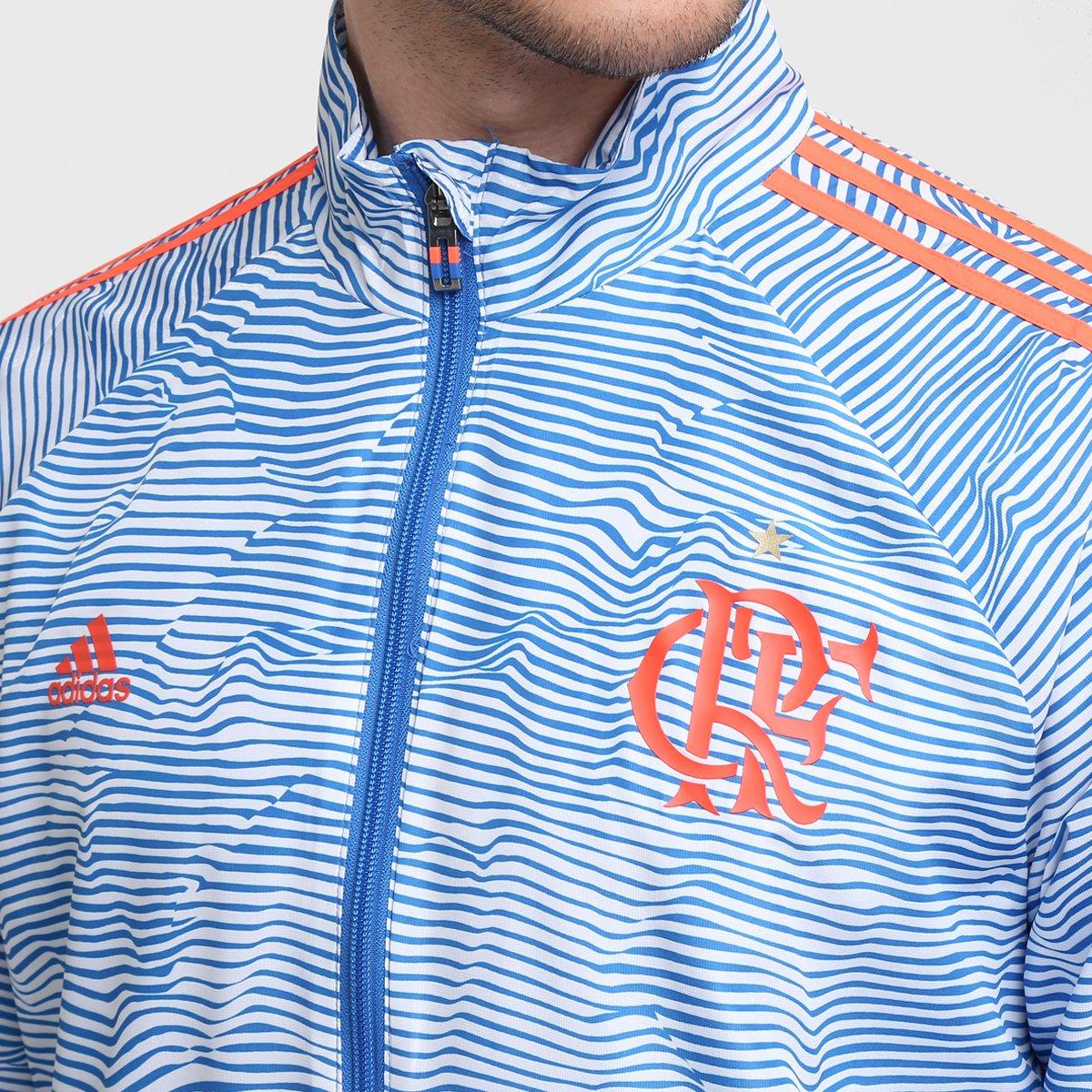 Agasalho Adidas Flamengo Viagem Lib - Compre Agora  452726ae69cde