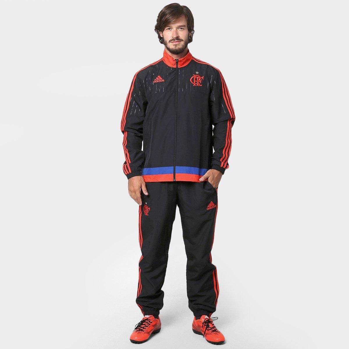 Agasalho Adidas Flamengo Viagem - Compre Agora  a5457bbce2c93