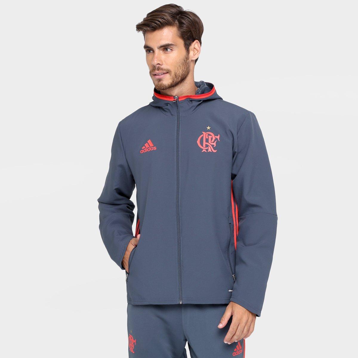 Agasalho Adidas Flamengo Viagem - Compre Agora  7a08183934d2b