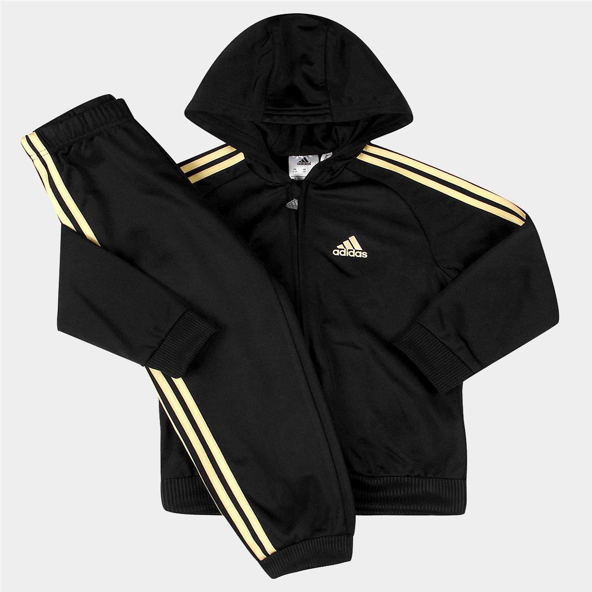 533abae54c Agasalho Adidas I St Shiny Fzhd c/ Capuz Infantil | Netshoes