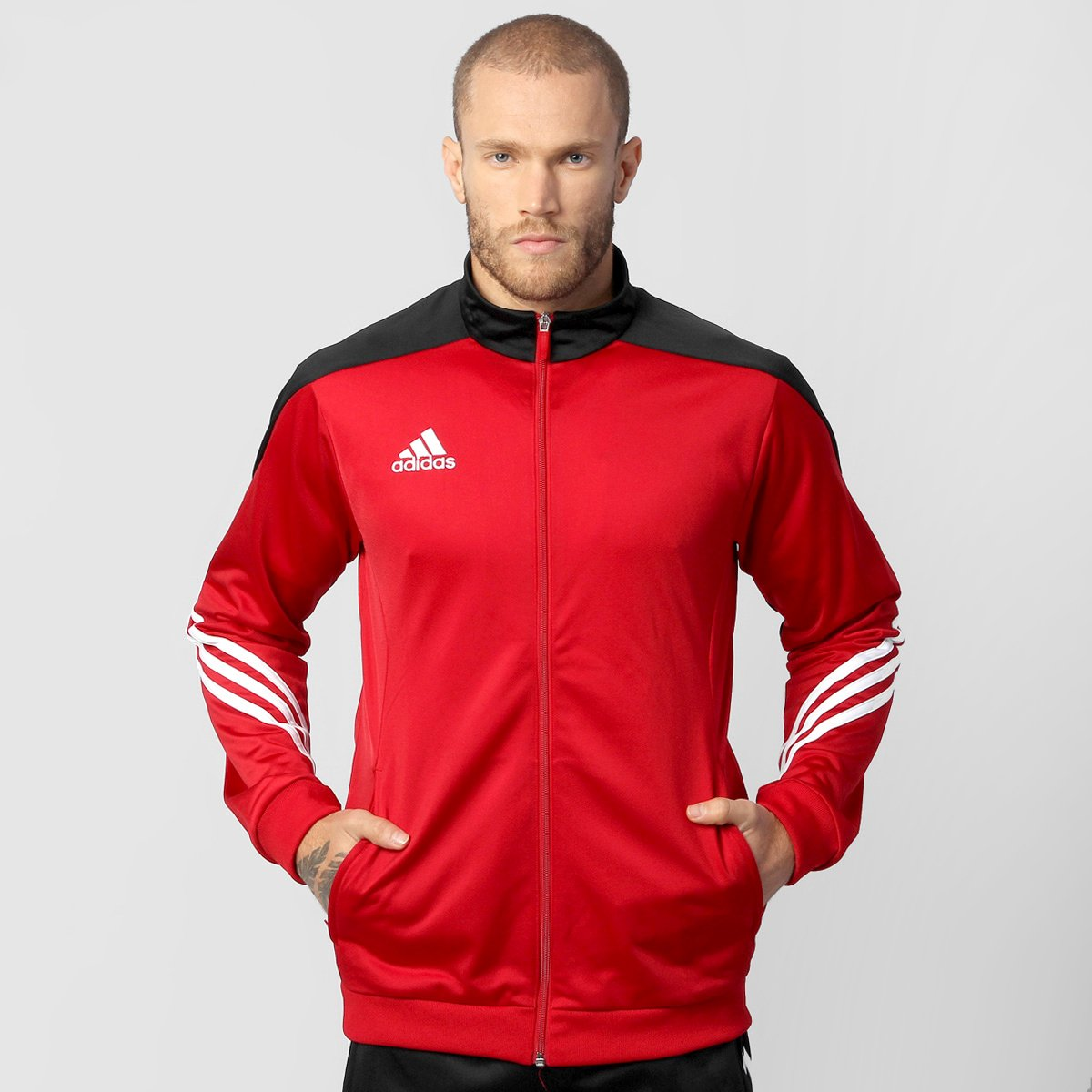 Agasalho Adidas Sere 14 Masculino - Compre Agora  a2d301ced0a6e