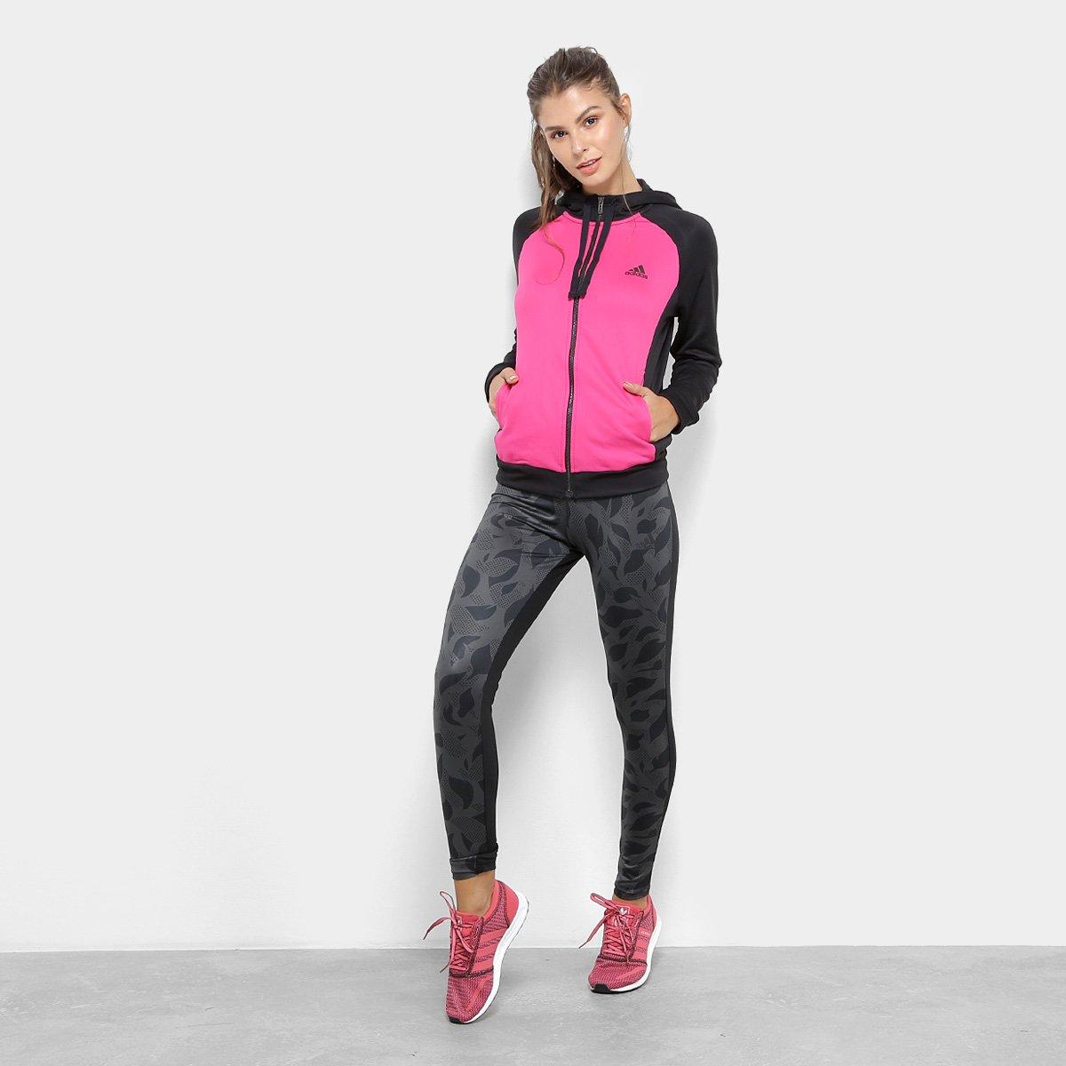 1ba5fc9e9d3 Agasalho Adidas Wts Hoodytight Feminino - Compre Agora