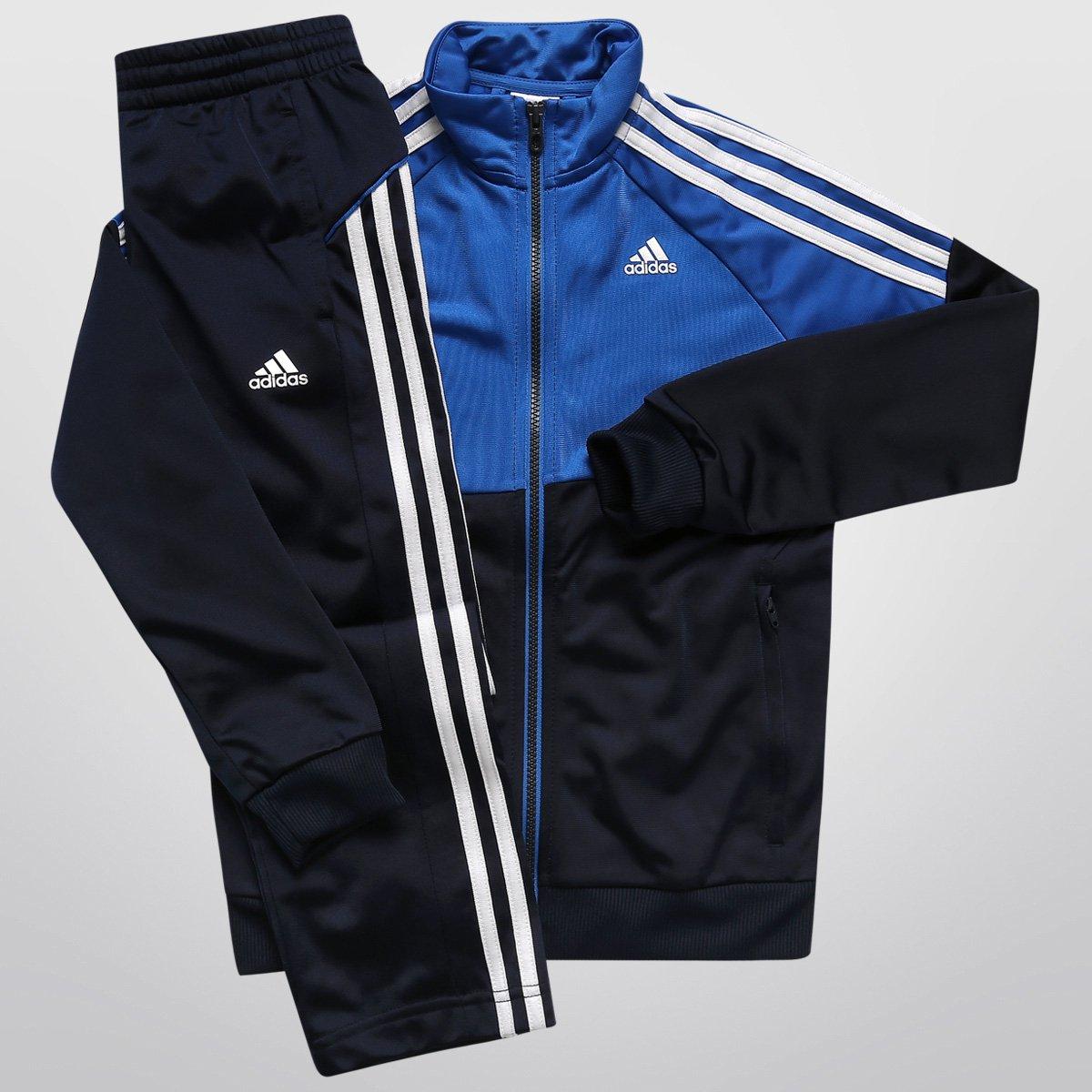 ... Agasalho Adidas YK TS Gear KN Infantil - Compre Agora Netshoes  9c8ca35cc34802 ... db9af003406c1