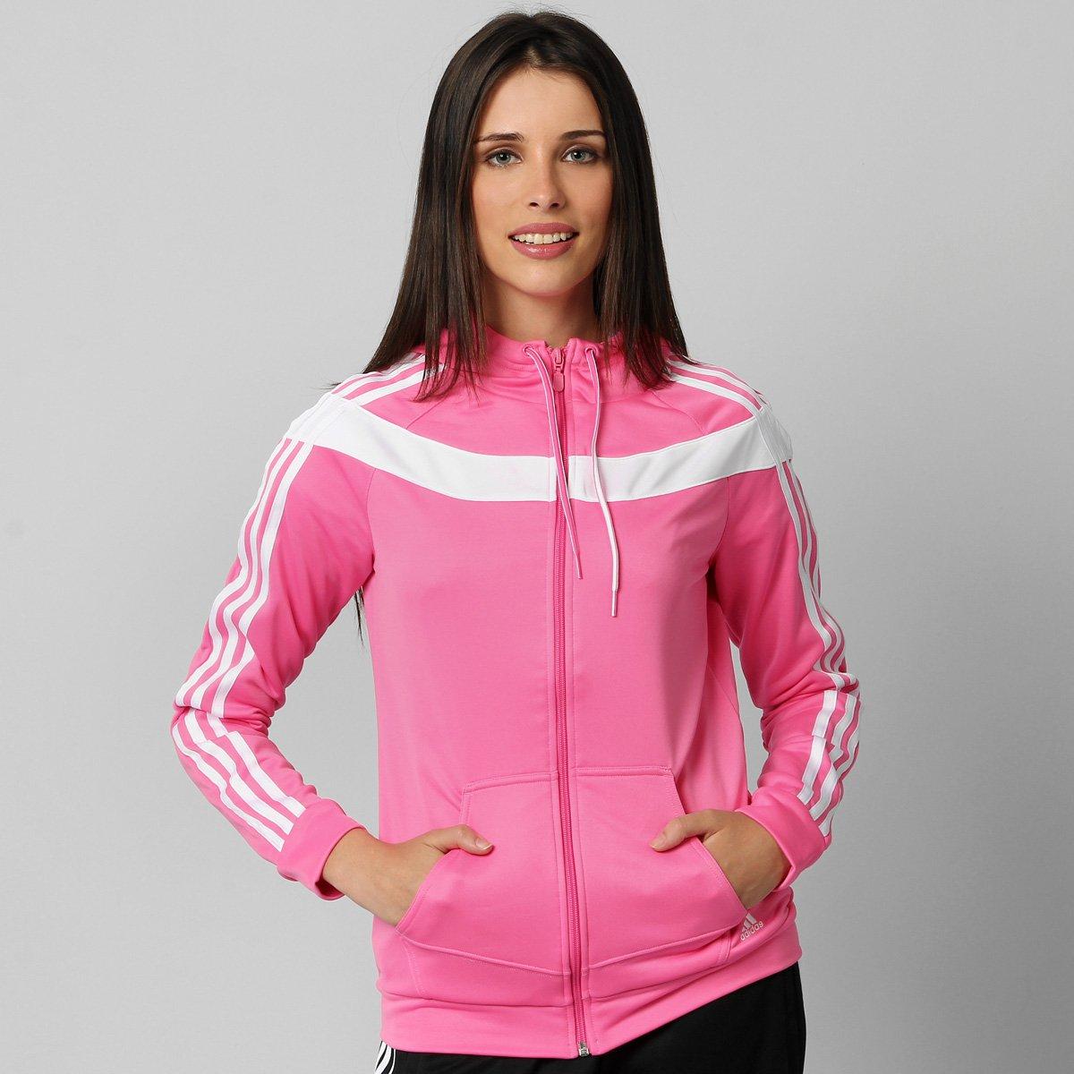 8559513e51 402ef33f23a Agasalho Adidas Young Knit c Capuz - Compre Agora Netshoes ...