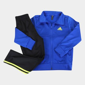 Agasalho Infantil Adidas 3 Stripes Team Masculino