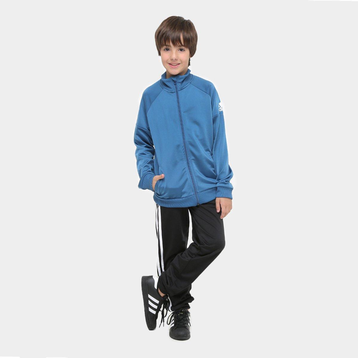 Agasalho adidas lb kn tracksuit infantil