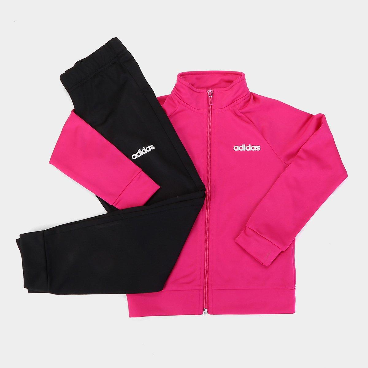 Jirafa Nueva llegada cisne  Agasalho Infantil Adidas YG Entry Feminino   Netshoes