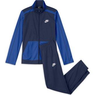Agasalho Infantil Nike NSW Futura Poly Cuff TS
