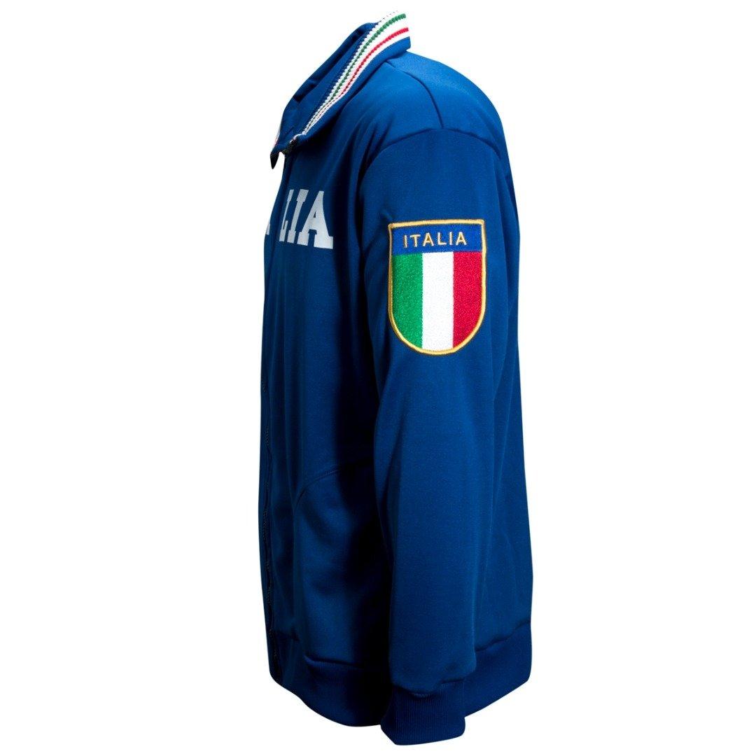 41b0dbffca Agasalho Liga Retrô Itália 1982 - Azul Royal - Compre Agora