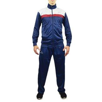 Agasalho Masculino Kappa Sportswear Jones Elanca Azul