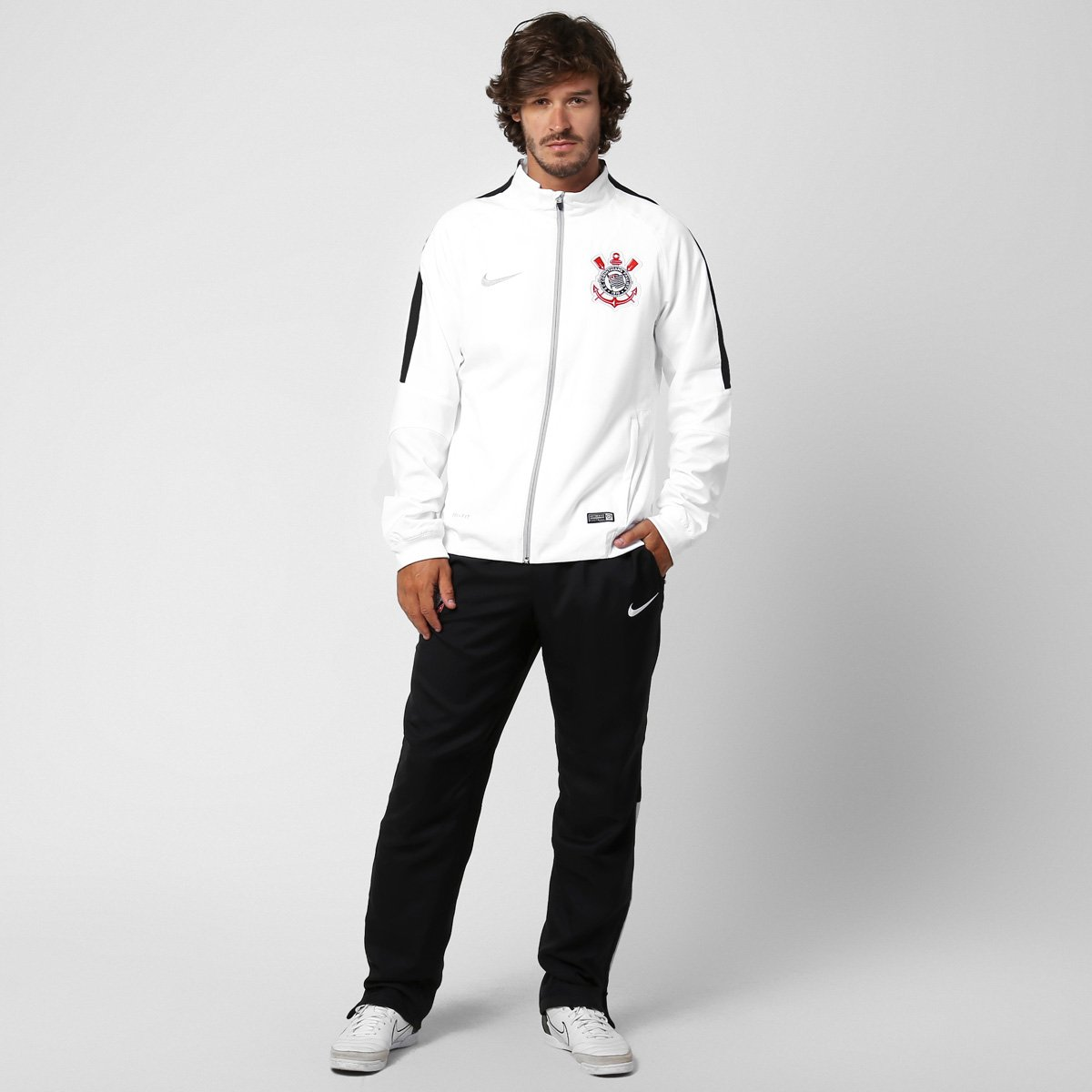 cbacbdbb4e Agasalho Nike Corinthians Squad Sideline Woven - Compre Agora