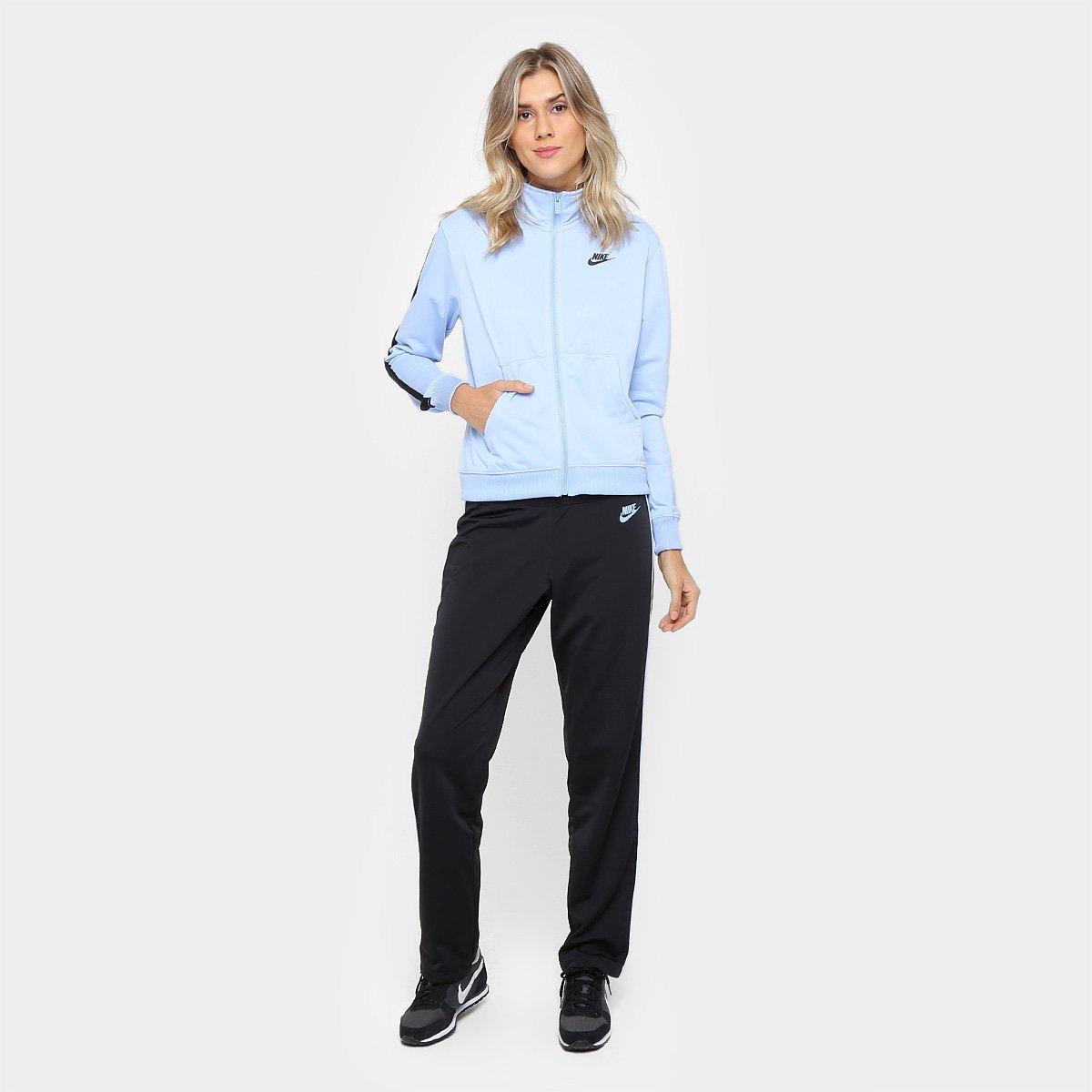 c5dd89fce6 Agasalho Nike Pk Oh Feminino - Azul Claro - Compre Agora