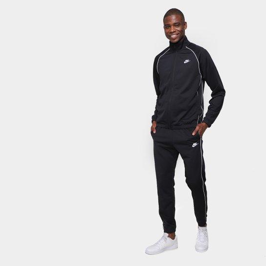 Agasalho Nike Suit Masculino - Preto+Branco