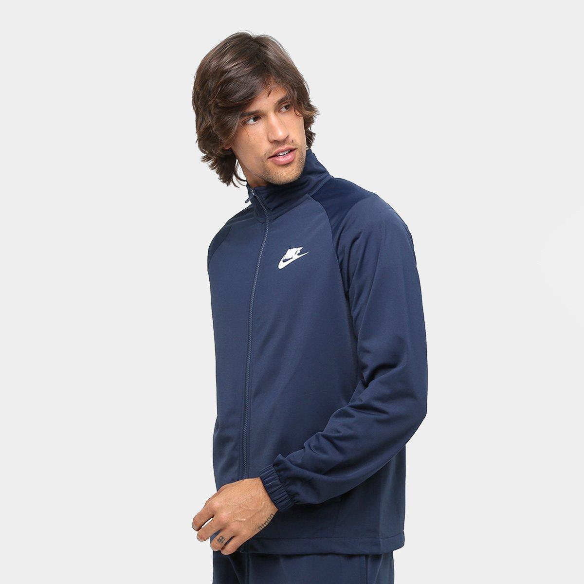 042af22ead Agasalho Nike Trk Suit Pk Basic Masculino - Marinho - Compre Agora ...