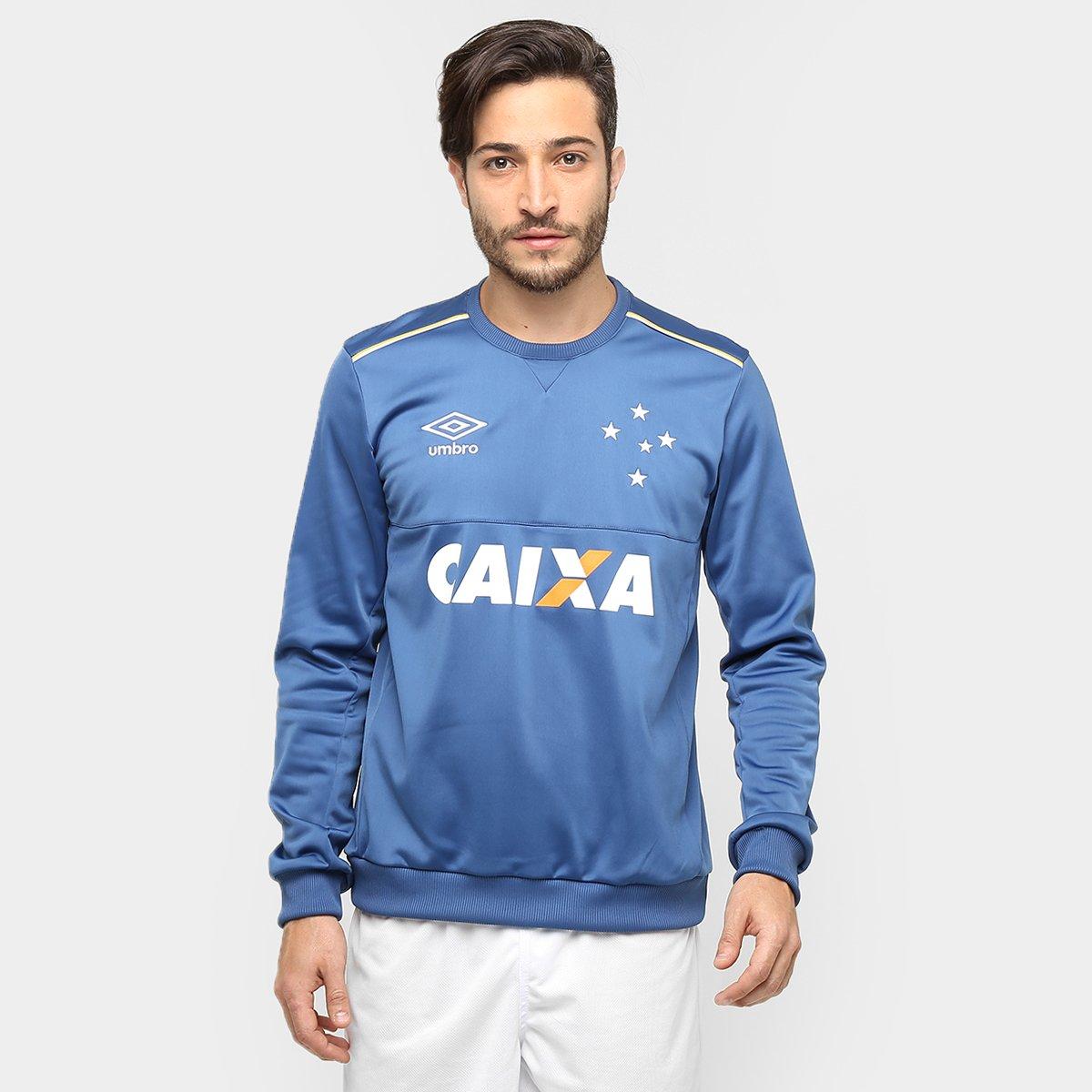 2ddd68c070 Agasalho Umbro Cruzeiro Treino 2016 - Compre Agora