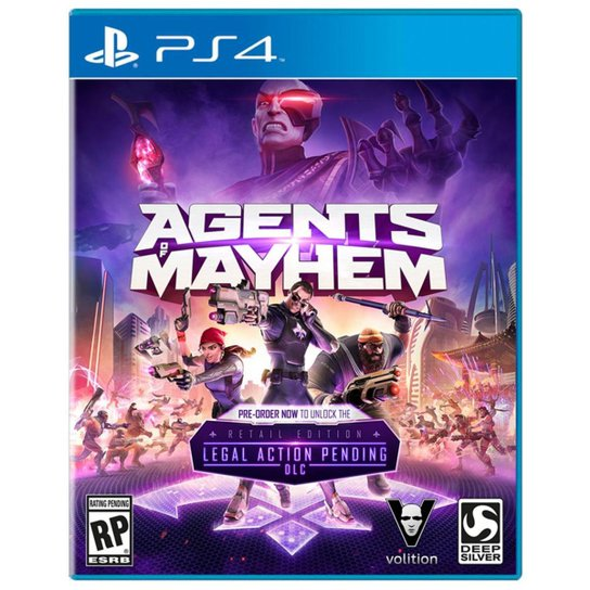 Agents Of Mayhem - Ps4 - Incolor