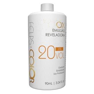 Água Oxigenada Felps Color OX 6% Emulsão Reveladora 20 volumes 90ml