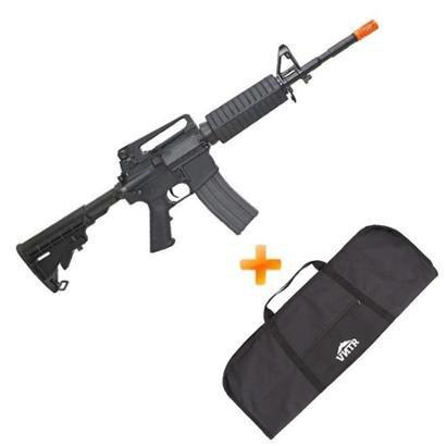 Airsoft M4A1 Rifle Carbine CM16 AEG G & G + Capa - Unissex