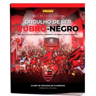 Álbum Flamengo Orgulho de Ser Rubro Negro 2020 Capa Dura UN