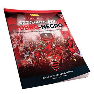 Álbum Flamengo Orgulho de Ser Rubro Negro 2020 UN
