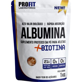 Albumina + Biotina 1KG Profit Laboratório