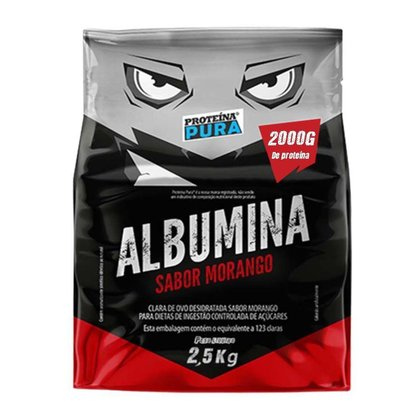 Albumina Desidratada 2,5Kg - Proteina Pura