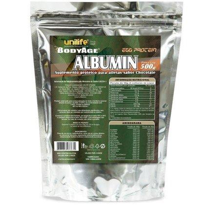 Albumina Egg Protein Chocolate 500g Unilife