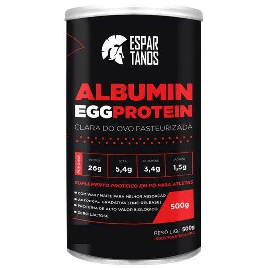 Albumina Egg Protein Clara de Ovo Pasteurizada 500g  Espartanos -
