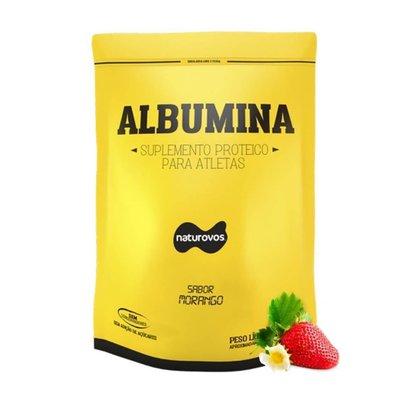 Albumina Pura 500gr com sabor - Naturovos