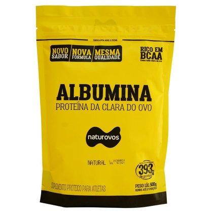 Albumina Pura 83% 500g Naturovos