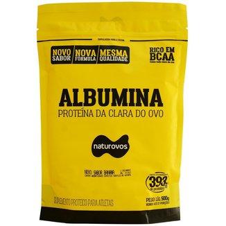 Albumina Pura com Sabor 500g Naturovos