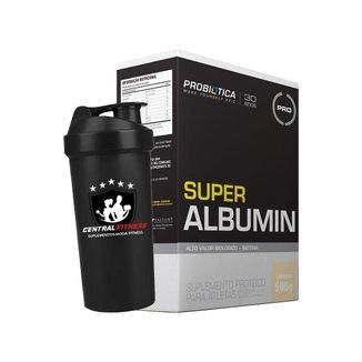 Albumina - Super Albumin - 500g + Coqueteleira - Probiótiica