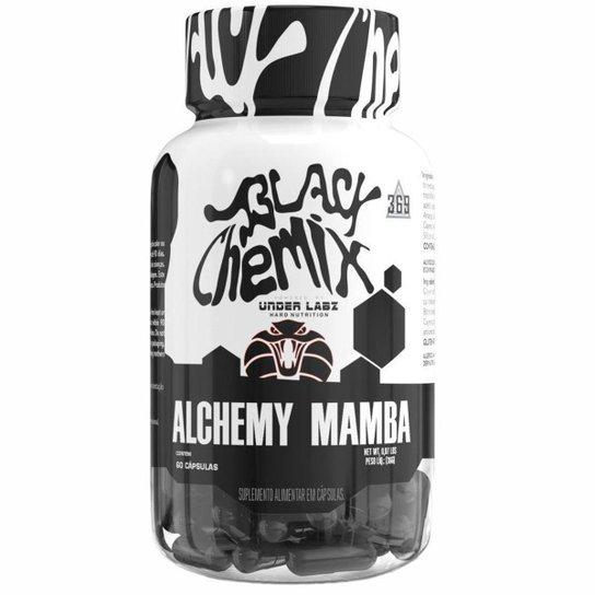 Alchemy Mamba Termogênico com 60 cápsulas Black Chemix -