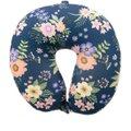 Almofada de Pescoço STZ Floral Marinho - U